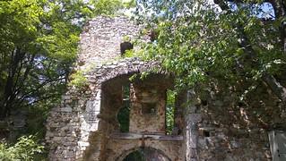 Burgruine Landsee の画像. castle stone austria österreich exterior stein burgenland burg mittelburgenland landsee landseerberge