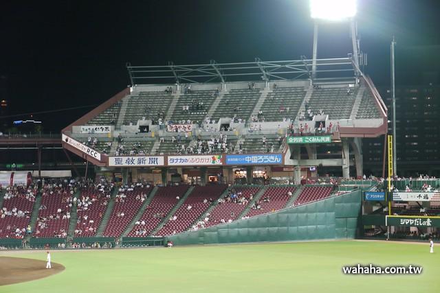 マツダスタジアムの「ビジターパフォーマンス席」