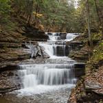 Further upstream, Buttermilk Falls