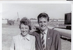 Two Students at Sunshine High, Vic,  early 1960s