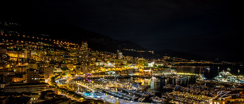 city france skyline architecture night buildings french landscape lights evening dock long exposure riviera cityscape harbour sony voigtlander côte panoramic monaco carlo monte dazur 21mm ultron a7r