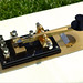 Lovely Marconi PS-213 Coast Station Telegraph Key hand made in Italy by Alberto Frattini