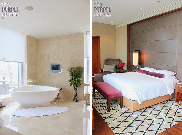 Grand Hyatt Macau Presidential Suite Bedroom and Master's Bath