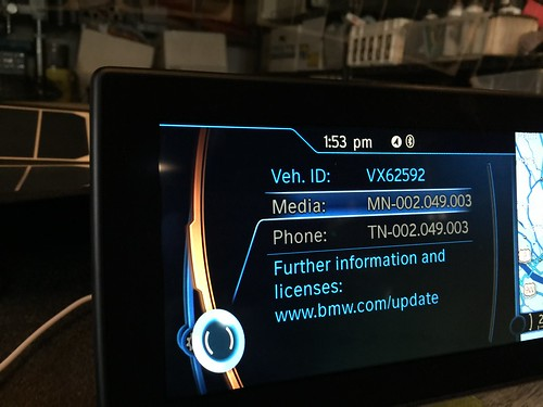 Bmw Software Update >> Updating The I3 Communications Phone Software Via Usb Drive Bmw I3