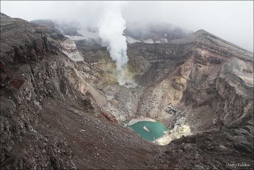 volcano russia kamchatka