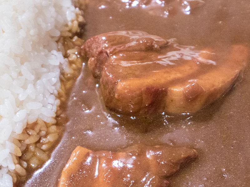 豚の角煮カレー