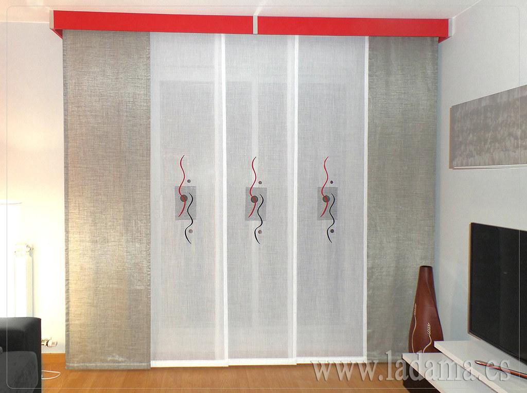 Fotograf as de paneles japoneses la dama decoraci n - Fotos paneles japoneses ...