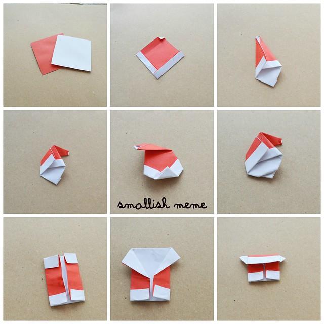 Cómo hacer una tarjeta de Santa Claus