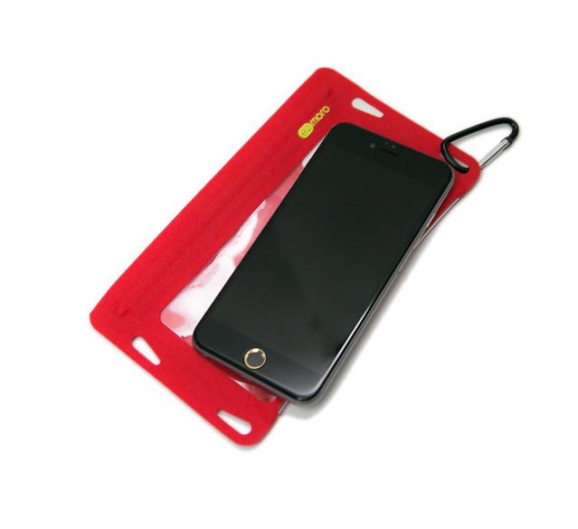 [反推薦] 裝不進去 iPhone 6 Plus 的 iPhone 6 Plus 防水袋 (e2moro) @3C 達人廖阿輝