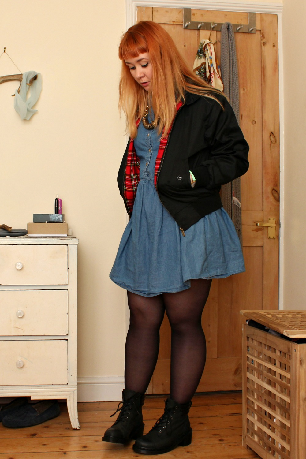 Dr Martens Rugged Collection style outfit post | Lily Doughball UK Fashion blog