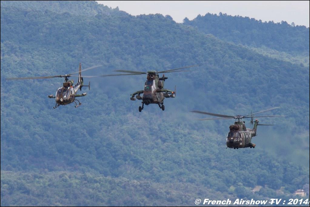 Demonstration ALAT, Airbus Helicopter, Meeting des 60 ans de l'ALAT,Aviation légère de l'armée de Terre (ALAT), Cannet des Maures