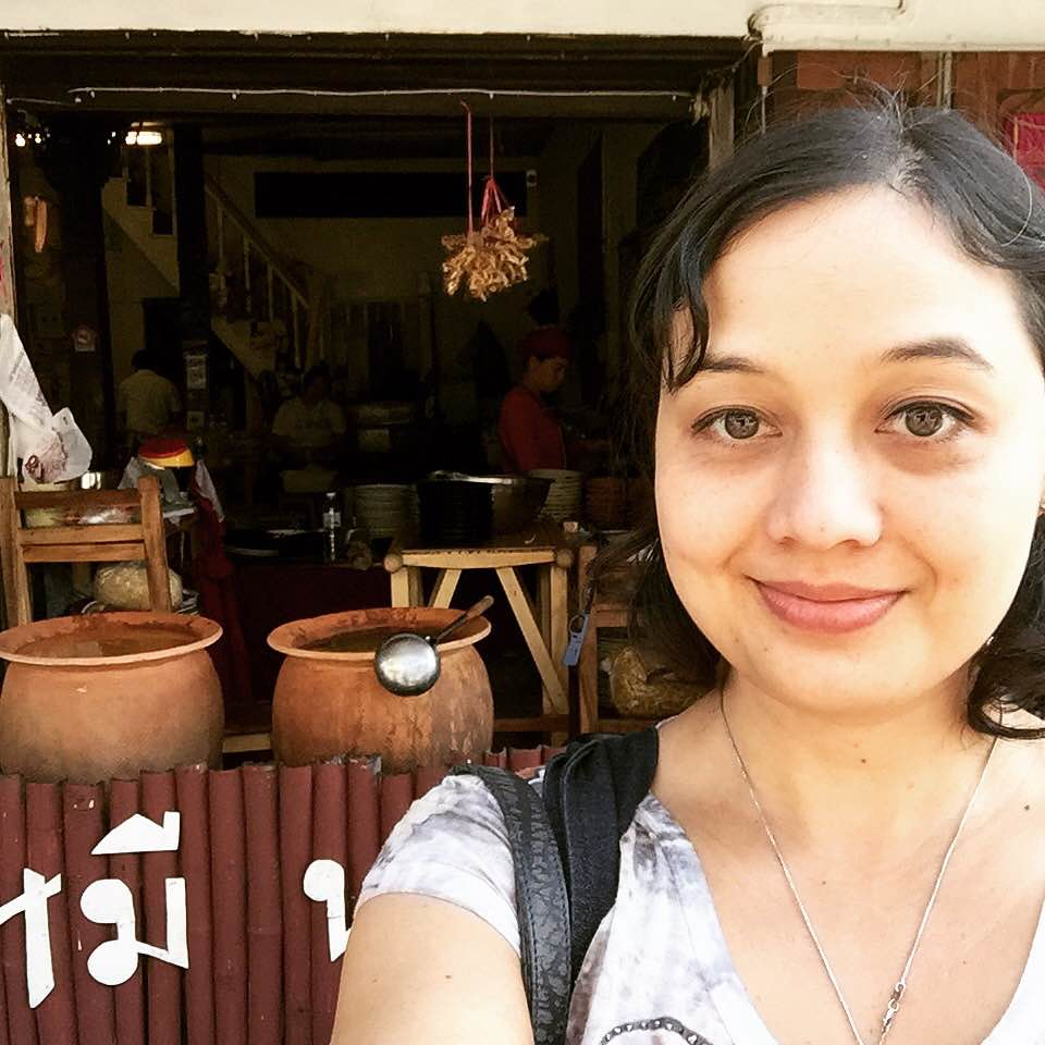 JAN 12: Impromptu road trip to Lampang, Thailand: Me & the curry pots
