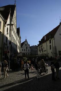 Crossroads near Town Hall Square