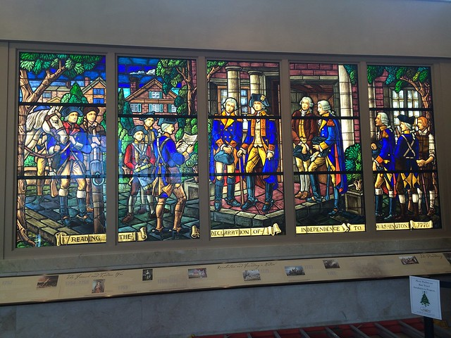 Stained glass display
