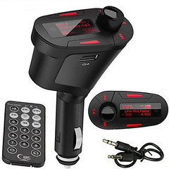 CAR FM RADIO TRANSMITTER MUSIC MP3 PLAYER FOR APPLE IPHONE 6 5 IPAD Mini Air