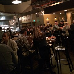 Busy night @emberwoodfire #ShareSLO #yum #goodfriends #goodtimes @emberrestaurant