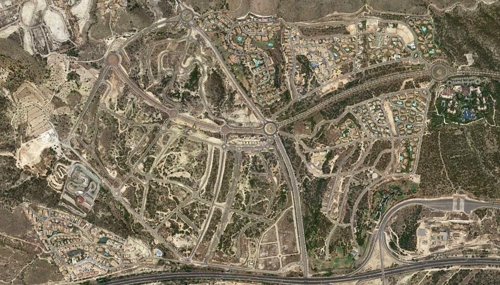 golf bahía, benidorm, alicante, golf watch, después, urbanismo, planeamiento, urbano, desastre, urbanístico, construcción, rotondas, carretera