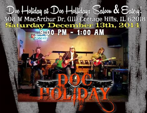 Doc Holiday 12-13-14