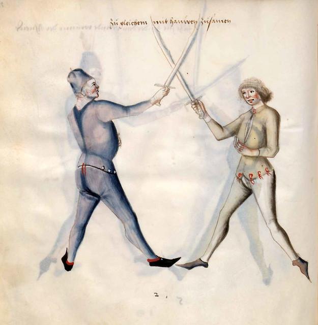 014-Kal Paulus Fechtbuch gewidmet dem Pfalzgrafen Ludwig- BSB Cgm 1507- Bayerische StaatsBibliotehek
