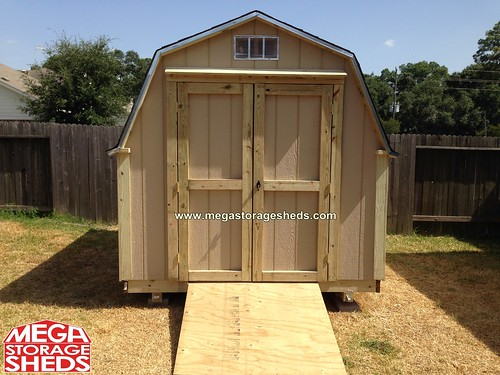 Storage Shed Ramps >> Steel Exterior Door | Mega Storage Sheds