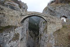 Hohe Brücke (Teufelsbrücke) in Leuk