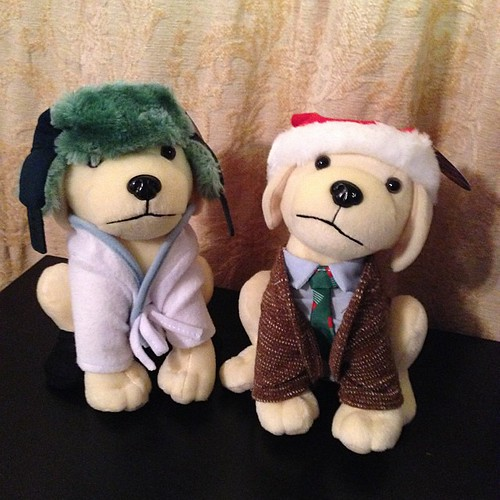 326:365 The annual holiday Raising Cane's pups are Clark & Cousin Eddie this year! Awesome!!