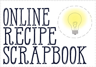 online recipe scrapbook