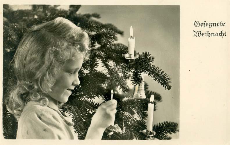 Gesegnete Weihnacht, Berlin ca. 1934