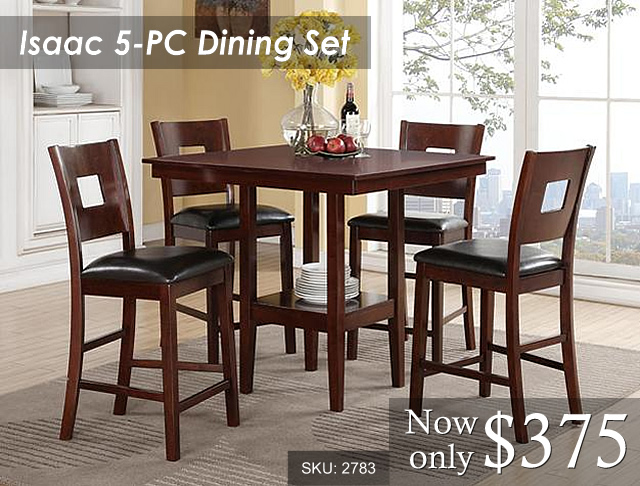 2783 - Isaac Dining Priced