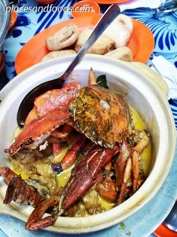 restoran siu siu butter crabs