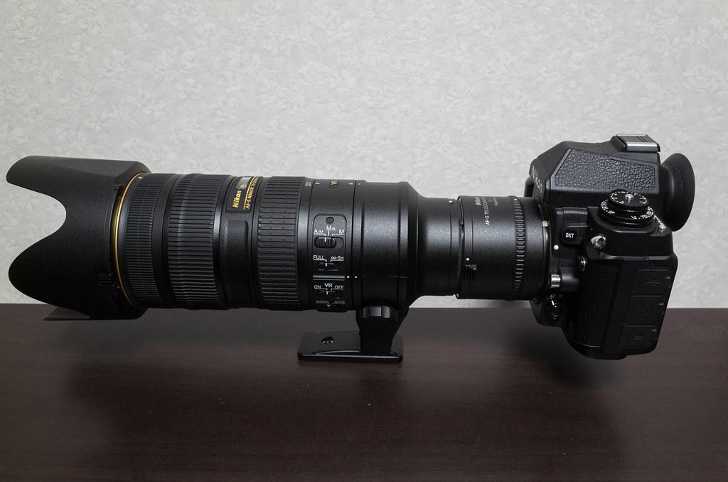 AF-S NIKKOR 70-200mm f/2.8G ED VR II + AF-S Teleconverter TC-20E III + DF