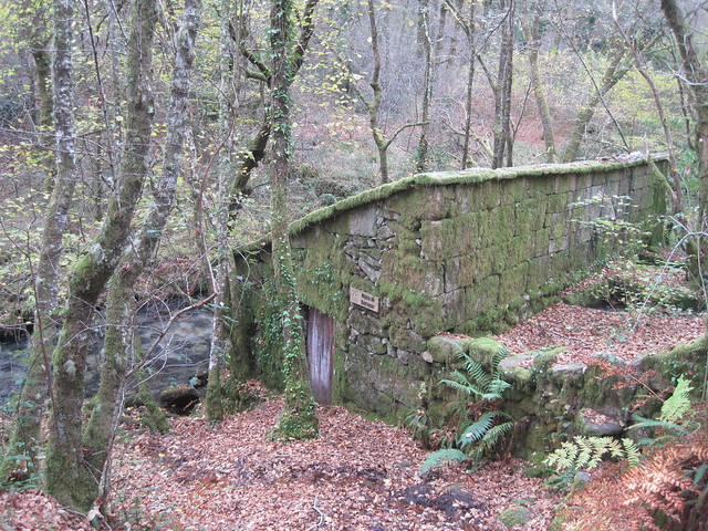 Muíño de Barragán en el río Barragán