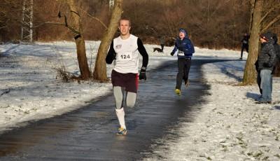 Silvestrovský běh ve Zlíně vyhráli Merva a Žaludková