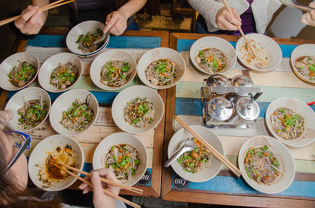 All the boat noodles