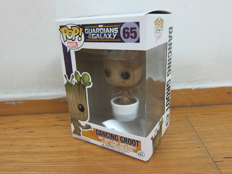 Funko Pop Dancing Groot - Box