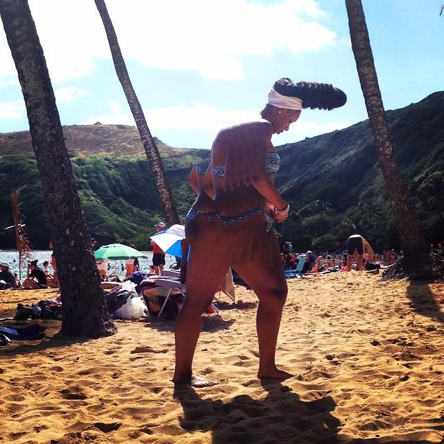 Beach panoGlitch.
