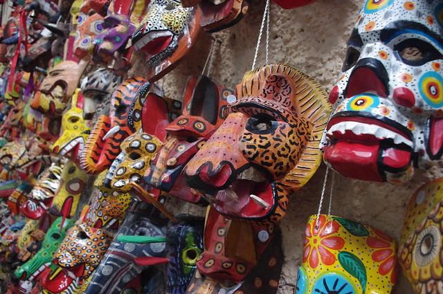Mask, Antigua Guatemala, Guatemala