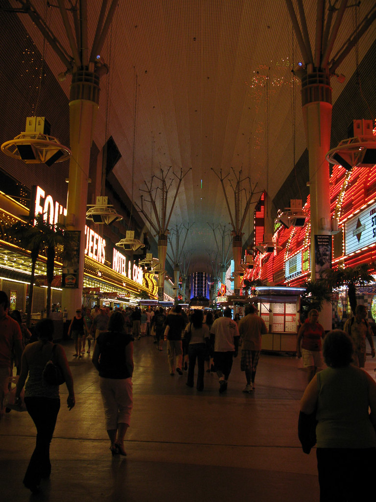 Downtown Las Vegas and Fremont Street