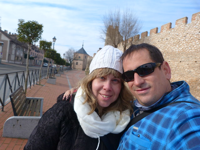 Rebeca y Sele en Olmedo (Valladolid)