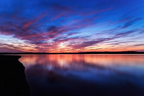 sunset landscape michigan bluehour stoneycreekpark canonef24105mmf4lisusm canoneos6d lightroom5 nikbundlesoftware