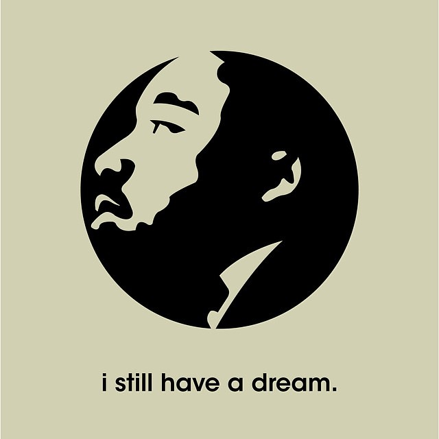 We're really excited to kick off a year-long poster campaign with a tribute to Dr. King. #TIGposterseries #MLK #ihaveadream