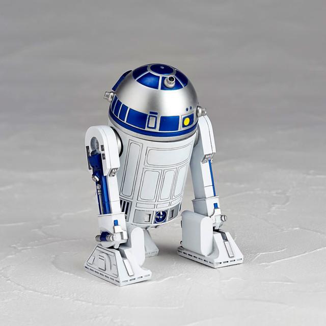 星際大戰輪轉可動系列《STAR WARS:REVO》No.004 R2-D2