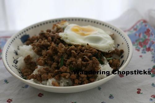 Taiwanese Minced Pork Rice 10