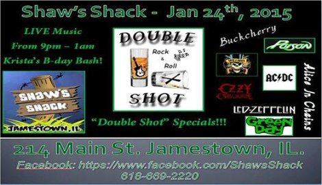 Double Shot 1-24-15
