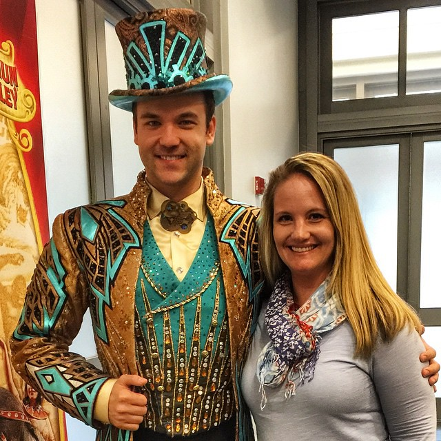 Today was more than I expected. Thank you, @thelizmorganpr for the invite! Now, let's go to the CIRCUS!! #RinglingBros #CircusXtreme #jonahbonahinjax #dtjax