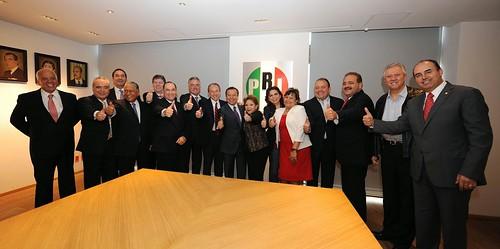 Juan Manuel Carreras, candidato a gobernador designado por el CEN priista
