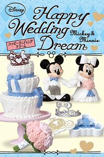 米奇與米妮幸福夢幻婚禮盒玩推薦!