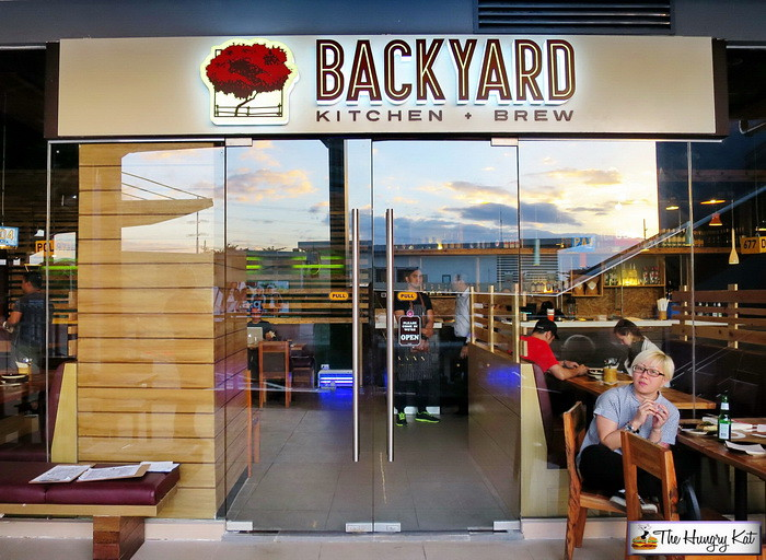 Backyard Is Located On The Second Floor Of UP Town Centeru0027s Phase 2  Building And It Might Take Some Time Finding And Getting To The Restaurant  As The ...