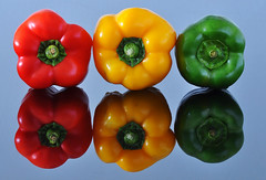 Traffic light bell peppers