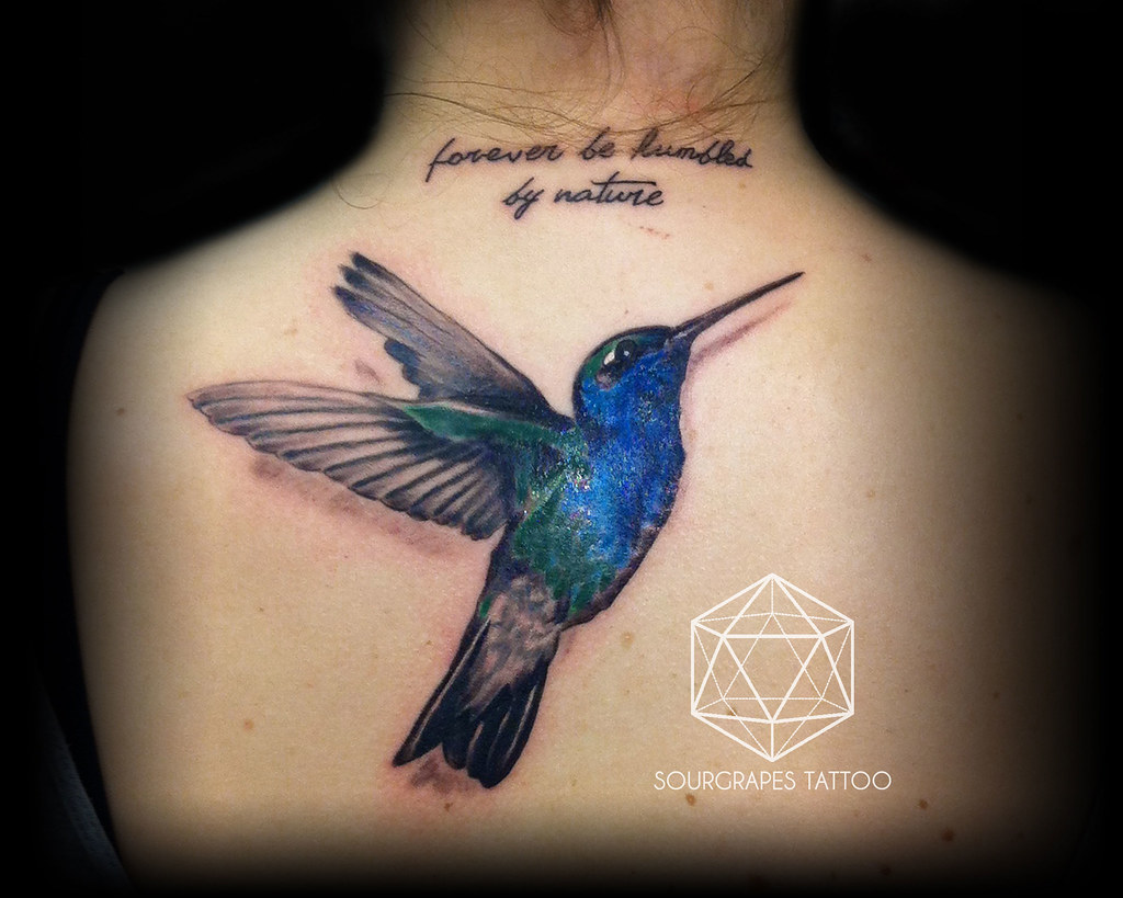 Realistic Hummingbird Tattoos | www.imgkid.com - The Image